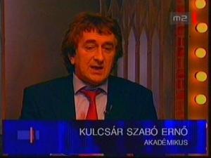 Kulcsár Szabó Ernő a nemzeti ikonok ellen