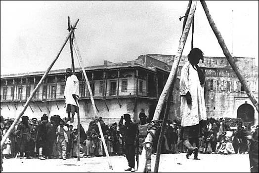 felakasztott örmények
